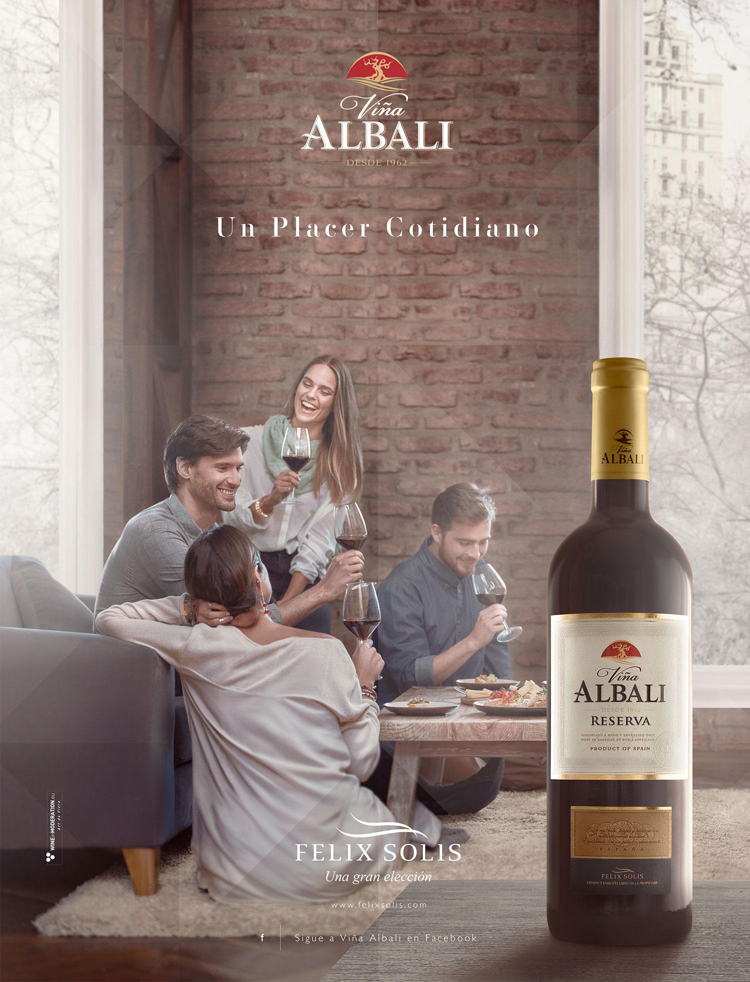 DAf Creative Wine Agency Albali